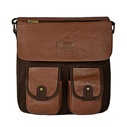 Brown Color Hand Bag Online