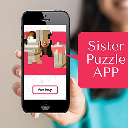 Puzzle Personalised App For Sister