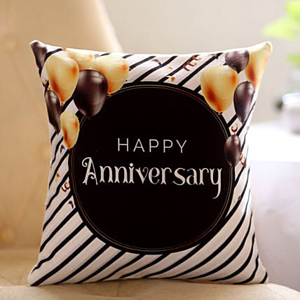 Online Anniversary Printed Cushion