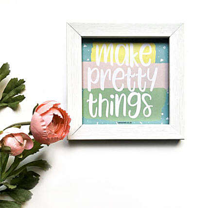 Quirky Quote Frame For Home