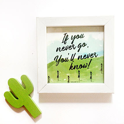 Quirky Quote Frame Online