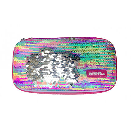 Neon Sequins Pouch For Her