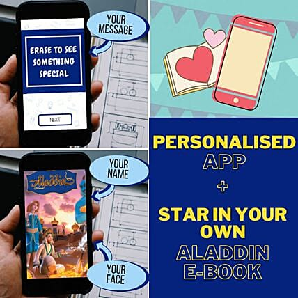 Rakhi Personalised E-Book App Game For Brother
