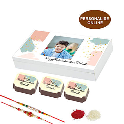 online rakhi special chocolate box- 6 pcs