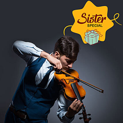 Rakhi Special Violinist On Call For Sis