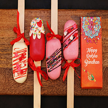 Colourful Cakesicles Combo for Rakhi