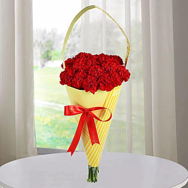 Bouquets Of Carnation Flowers:Send Designer Flower Bouquets
