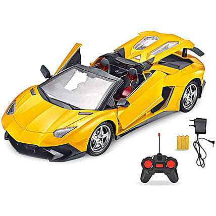 Remote Control LED Toy Car