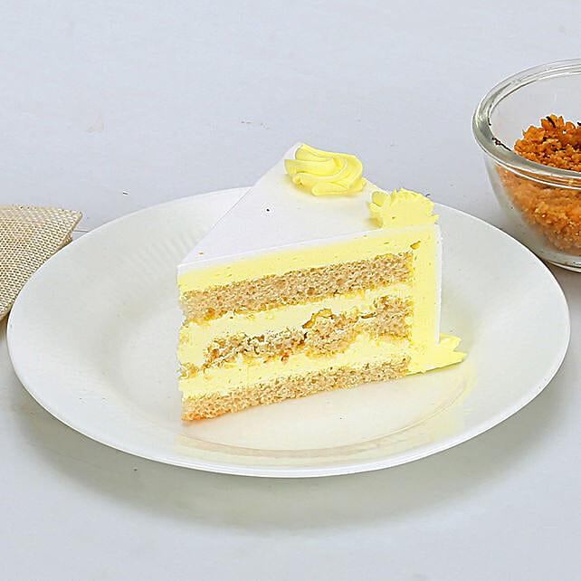 Rectangular Butterscotch Treat Half kg Eggless