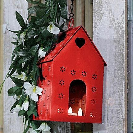 Red Bird House. GIFTS-GG_BHR