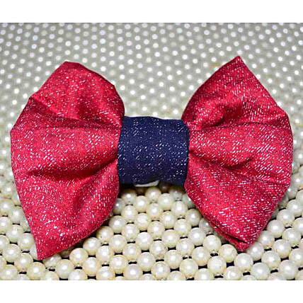 Bright Colour Pet Bow Tie:Pet Gifts