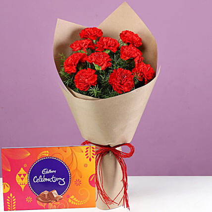 Carnation and Chocolate Pack Online