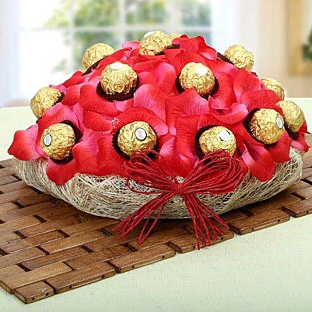 Ferrero Rocher Chocolate Gift Basket
