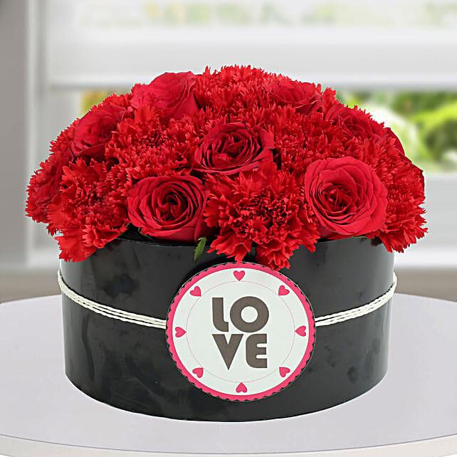 Beautiful Rose Arrangement for Girlfriend