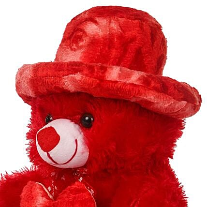 Online Red teddy bear:Teddy Day Soft Toys
