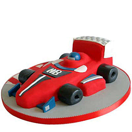 Red Hot Ferrari Car Cake 2kg:Buy Car Shape Cake