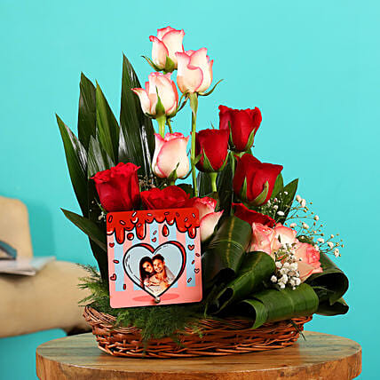 Online Personalised Flower Arrangement:Flowers N Personalised Gifts
