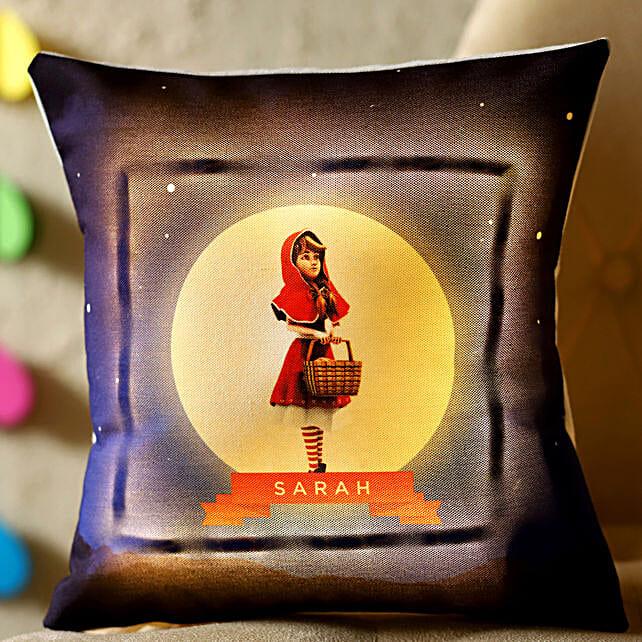 online personalised led cushion