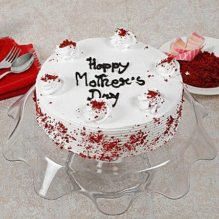 Red Velvet Mothers Day Cake