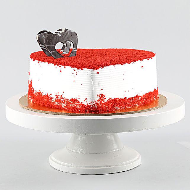 Red Velvet Heart Cake 1kg