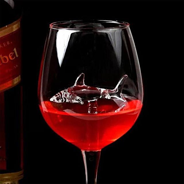 Online Red Wine Shark Goblet