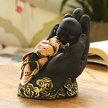 relaxing monk idol online:Send Home Decor Gifts