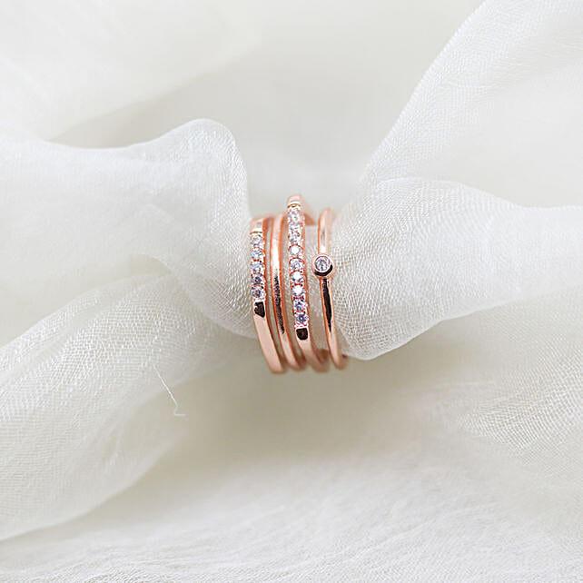 Online Rose Gold Ring For Her