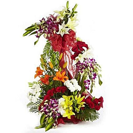 Rhythm Divine - Exclusive arrangement of mix seasonal flowers.