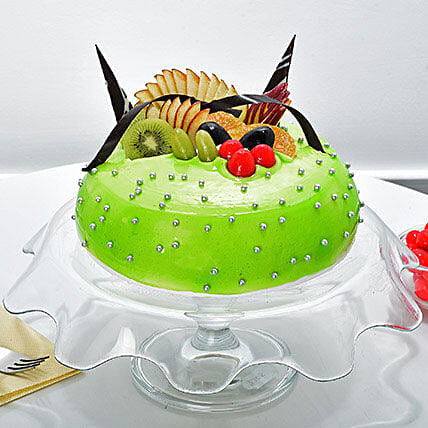 Rich Fruit Cakes Half kg eggless cake gifts:Send Fresh Fruit Cakes