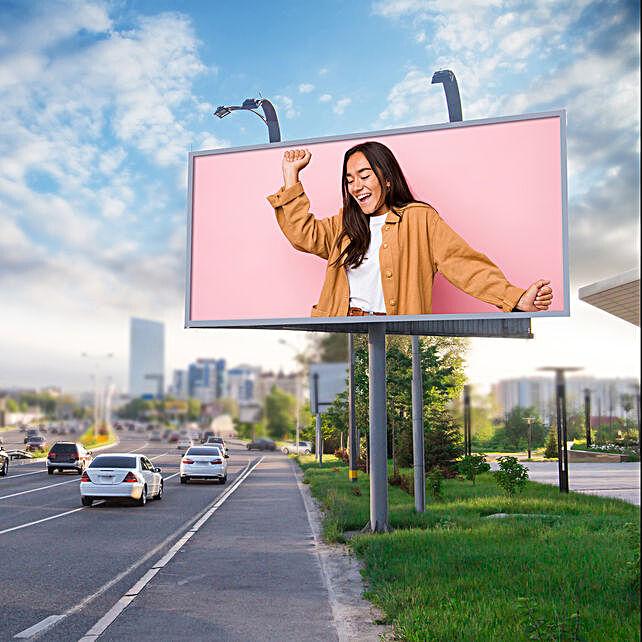 Email Roadside Billboard Poster
