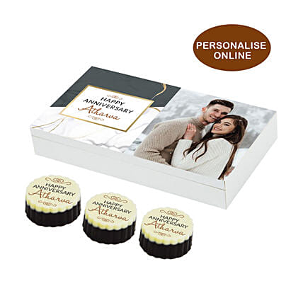 Couple Picture Printed Chocolate Box