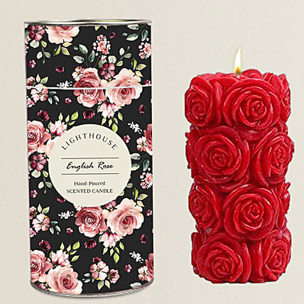 Aroma Pillar Candle For Home Decor