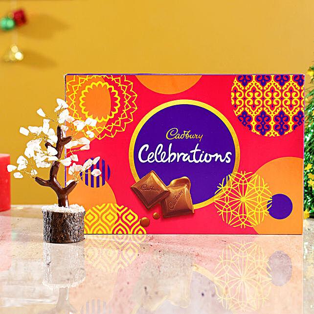 Rose Quartz Wish Tree & Cadbury Celebrations