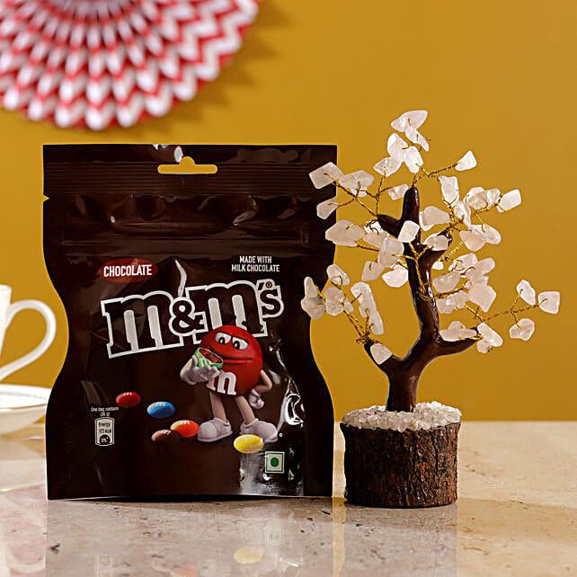 Rose Quartz Wish Tree Chocolate M Ms