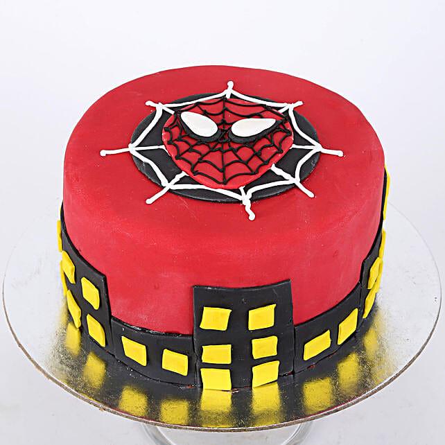Spiderman Cake For Kids 1kg