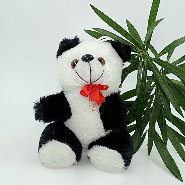 Online  Black & White Panda Cartoon