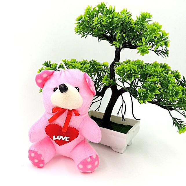Online Creamy Romance Teddy Bear