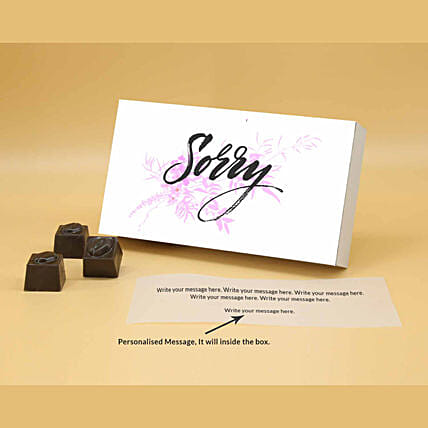 Online Say It With Personalised Pretty Chocolates