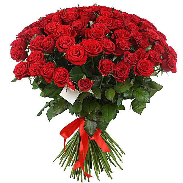 Scarlet Rose Fantasy Bouquet