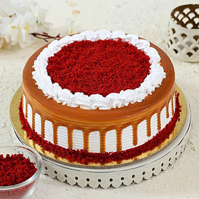 red velvet cake online:Red Velvet Cake Order