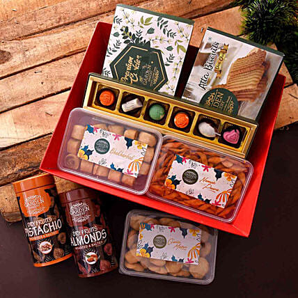 online sweet and savoury hamper