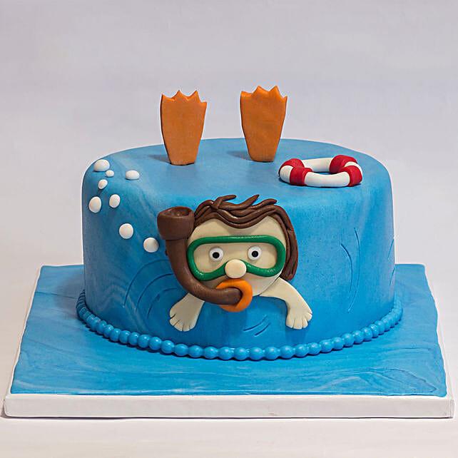 ocean theme cake online