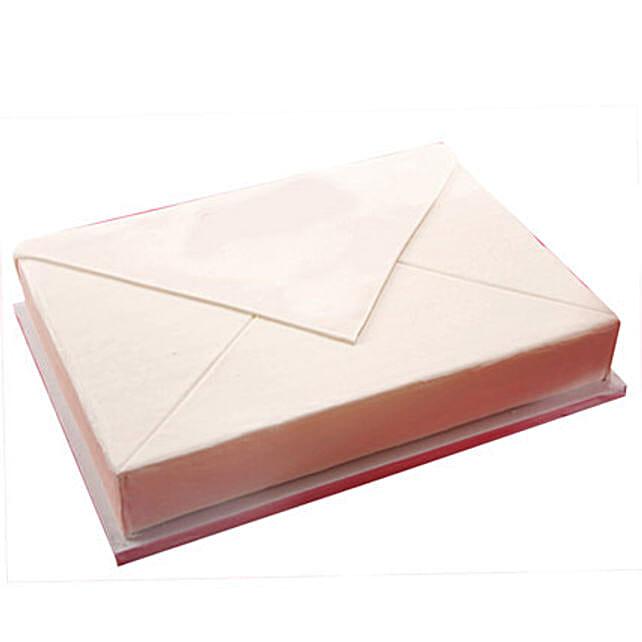 Envelope sheet cake 1kg