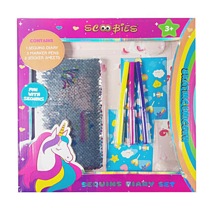 Sequins Diary Set For Her