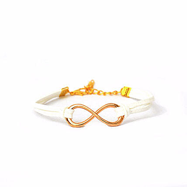 Shop Fashion Infinity Love Bracelet:Friendship Day Bands