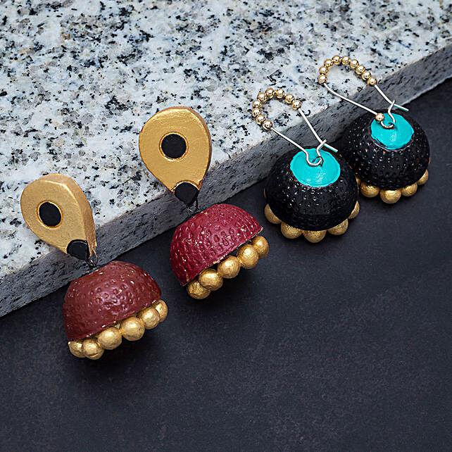 set of 2 earrings online