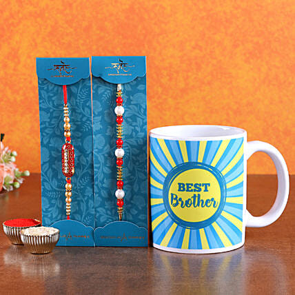 Rakhi Set and Mug Combo