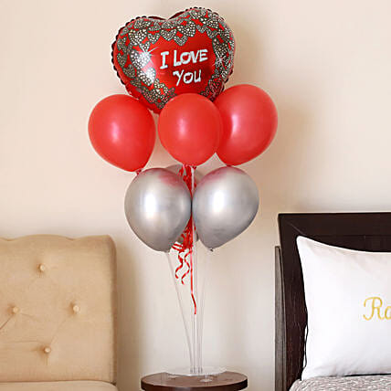 Shining Love Balloon Bouquet