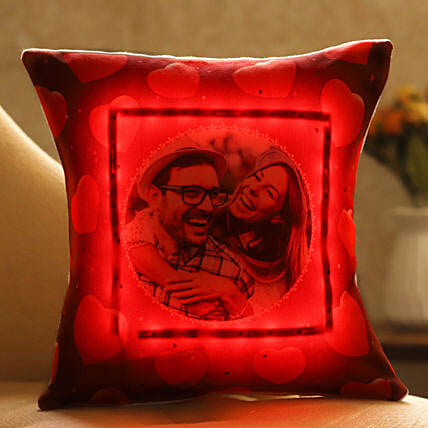 online personalised cushion for valentines day:Customised Pillow