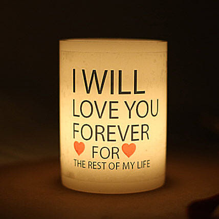 Love You Forever Candle:Send Candles